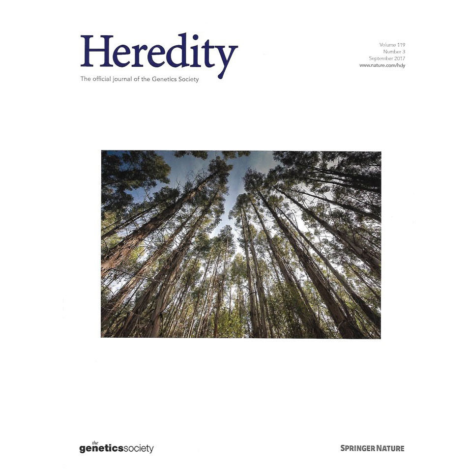 Heredity front cover <br>Genetic-based interactions among tree neighbors