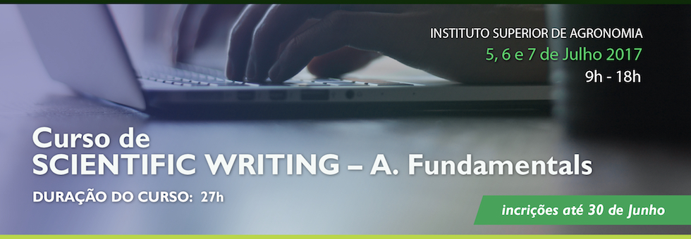 Scientific Writing – A. Fundamentals