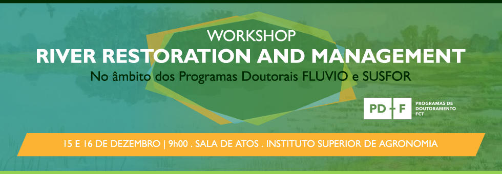 Workshop River Restoration and Management