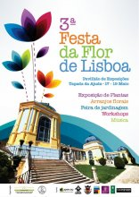 Cartaz da 3ª Festa da Flor
