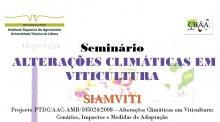 """Seminário """"Alterações Climáticas em Viticultura"""""""