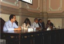 foto da recepcao institucional aos novos alunos 2013