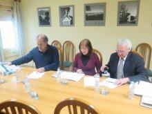 Assinatura do protocolo entre o ISA, o ICETA e a Rede de investigação  InBio