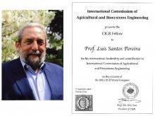 Prémio CIGR Fellow - Prof. Luis Santos Pereira