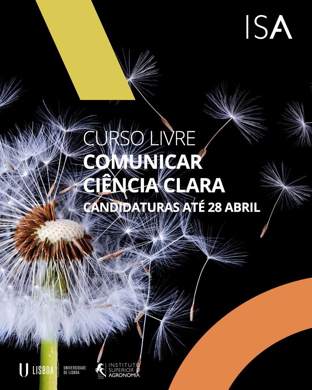 Curso Livre Comunicar Ciência Clara