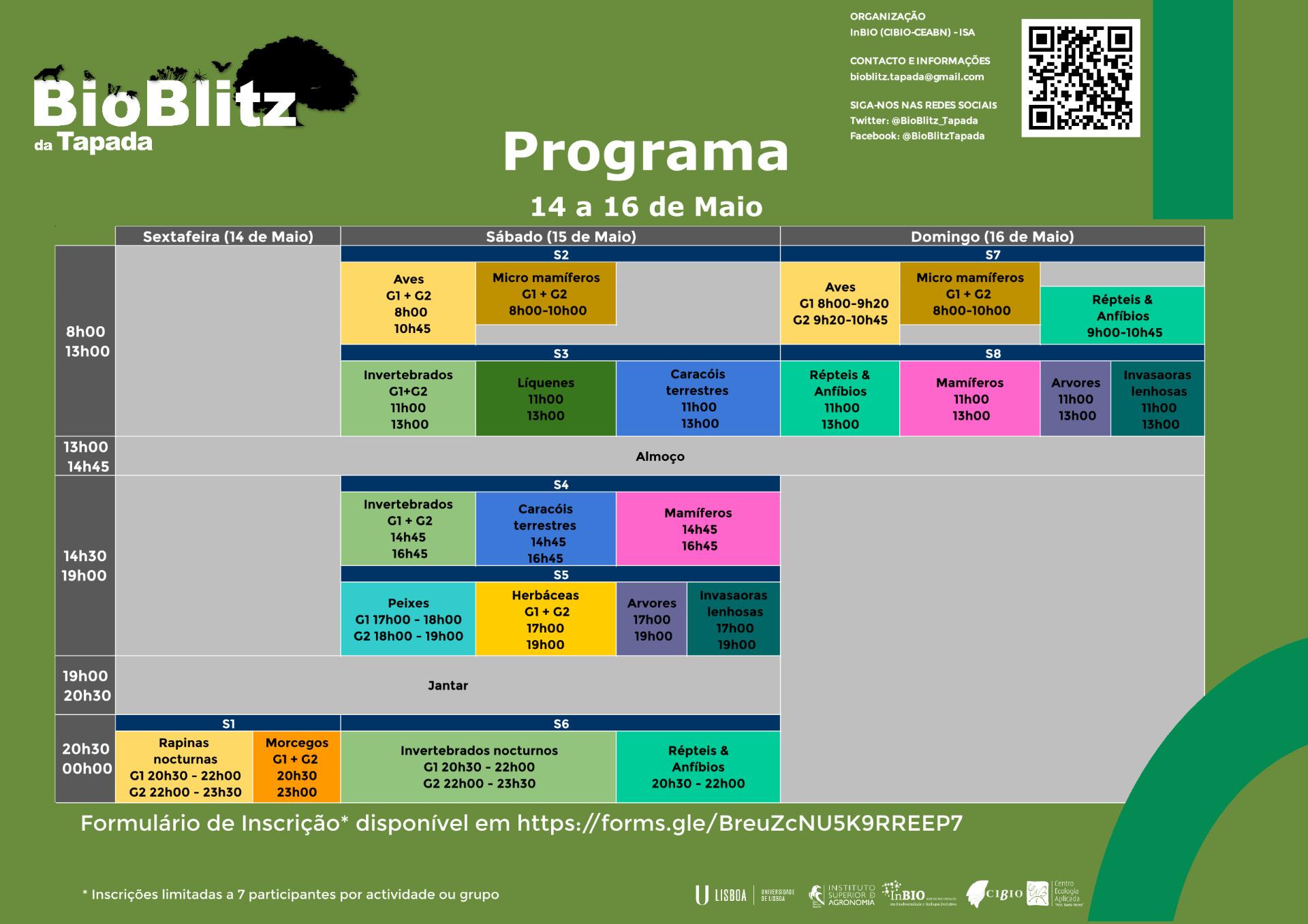 Programa do Bioblitz