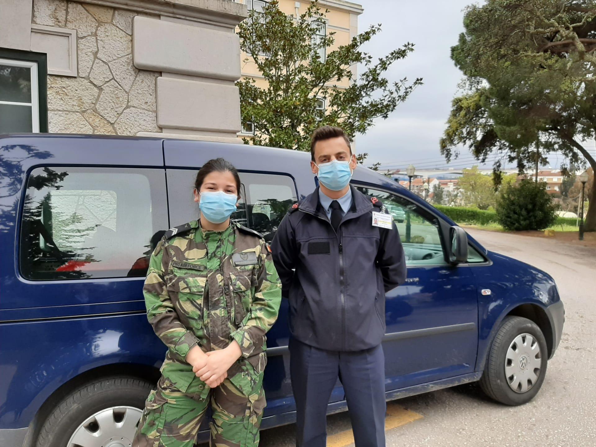Responsáveis do Hospital Militar do Lumiar