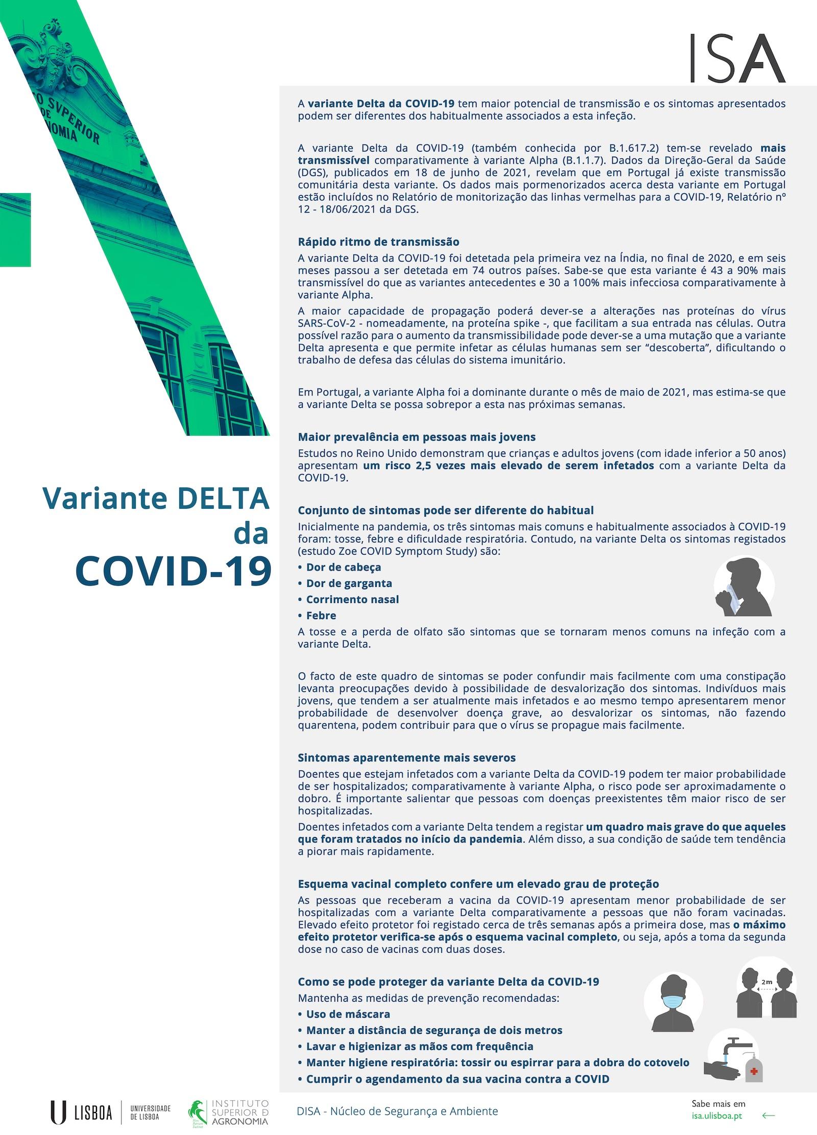 Poster Variante Delta