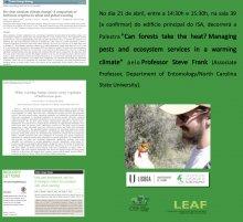 LEAF Seminars - Steve Frank